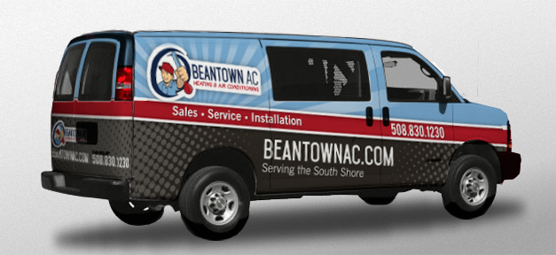 Graphics for Hvac Van Wrap