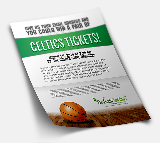 Celtic Tickets - Flyer