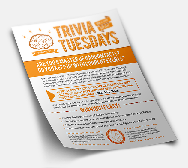 Trivia Tuesday - Flyer Design